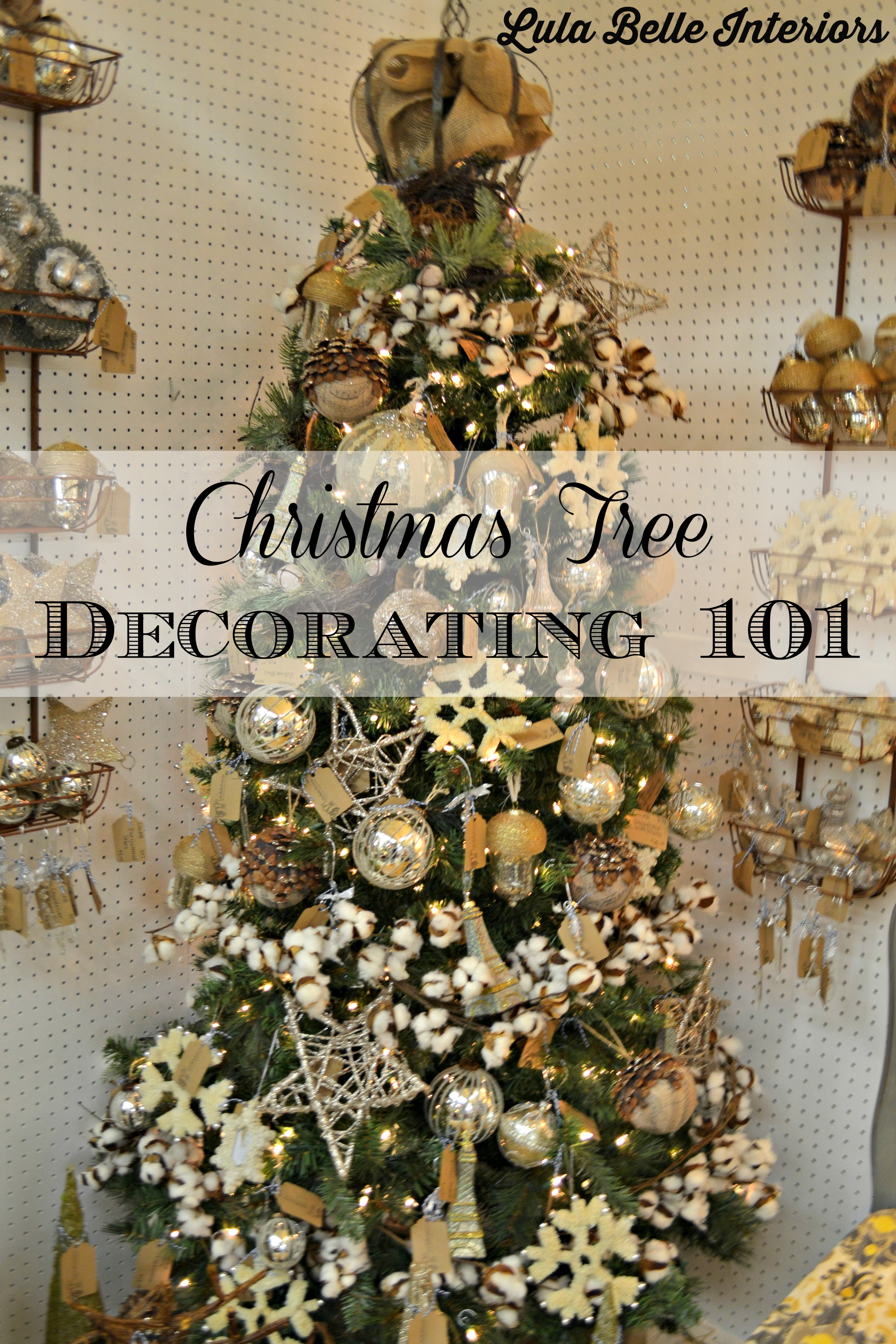 Living Room Decorating 101 christmas tree decorating 101 lula belle interiors trees can be as simple adding lights and ornaments with little thought given to the process however there are times when